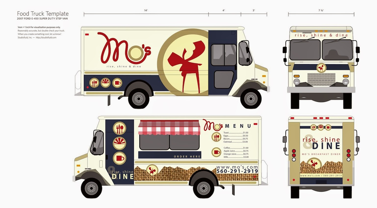 food truck design template mobile food business hidetailed food truck isolated on grey stock. Black Bedroom Furniture Sets. Home Design Ideas