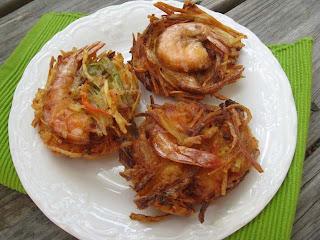Carrot Potato Fritters