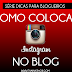 DPB: Como Colocar o Instagram no Blog