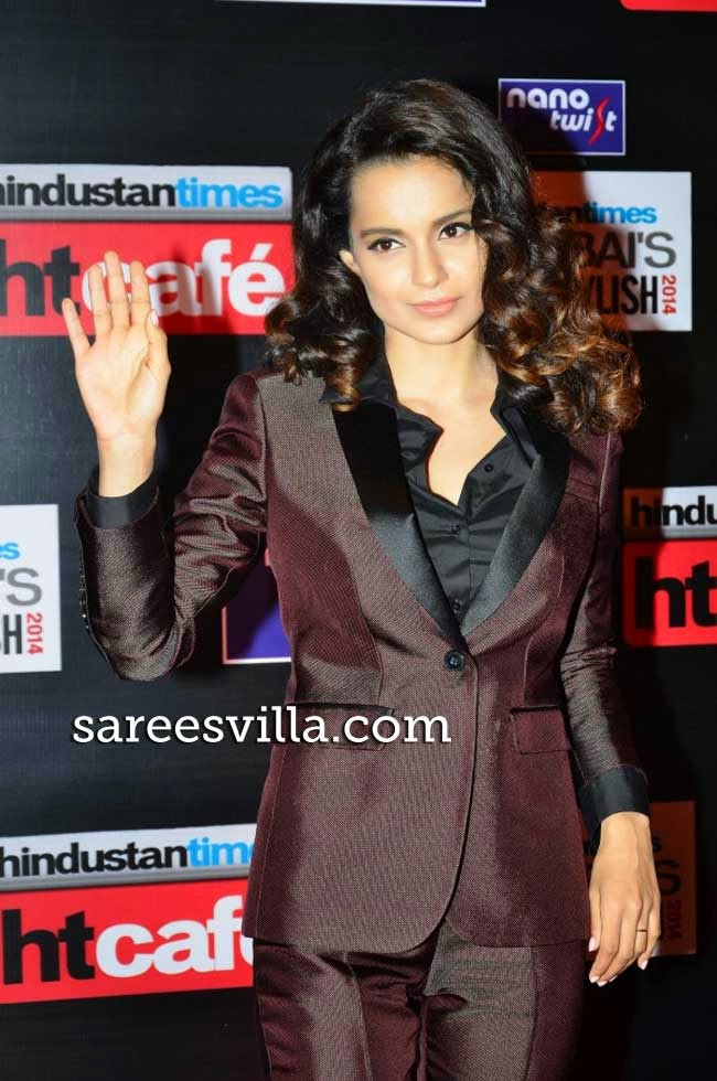 Kangana Ranaut at Most Stylish Awards 2014