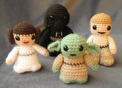 Amigurumi Sewing Machine Pattern : Amigurumis de Star Wars La Guarida Geek