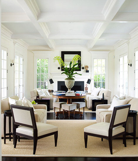 Splendid sass design in east hampton for Living room 2 seating areas