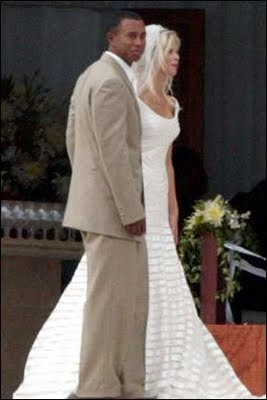 Sport Player Tiger Woods And Elin Wedding