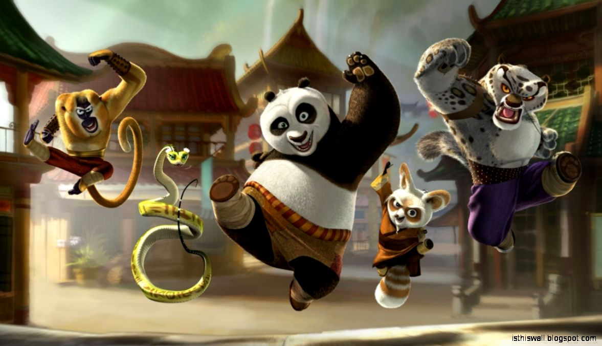 Kung Fu Panda 2 HD desktop wallpaper  High Definition