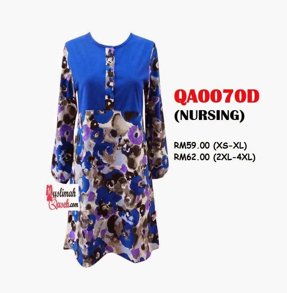 T-Shirt-Muslimah-Qaseh-QA0070D