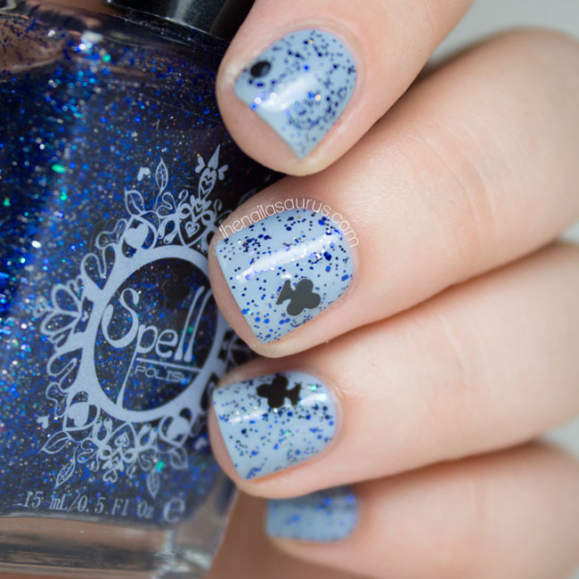 Spell Polish Pirate Swatch & Giveaway - The Nailasaurus | UK Nail ...
