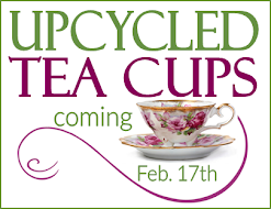 UPCYCLED TEA CUPS