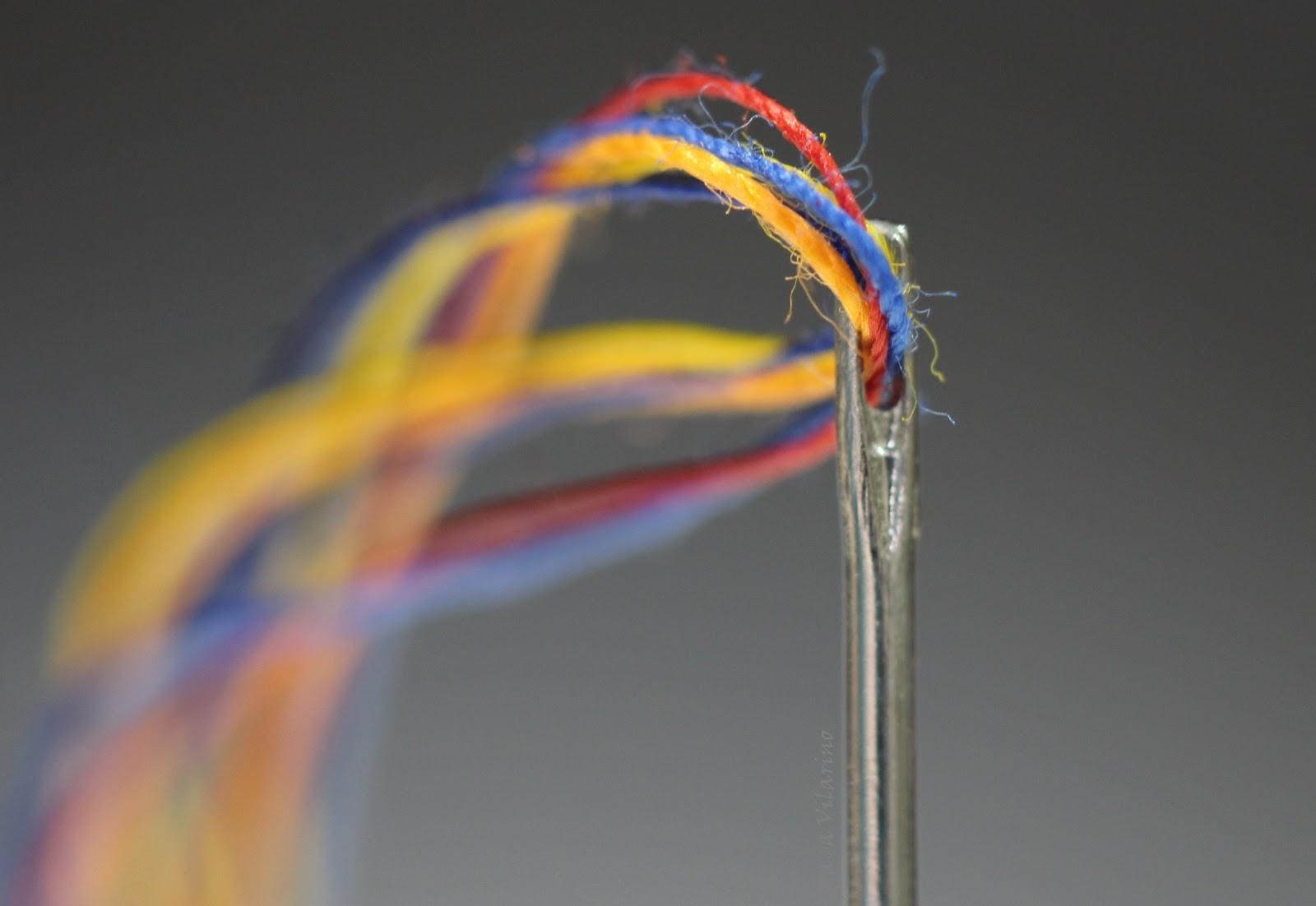 Sewing needle &  thread, by Graça Vilarino - PhotoConversa