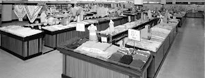 Woolworths Clothing Counter 1953