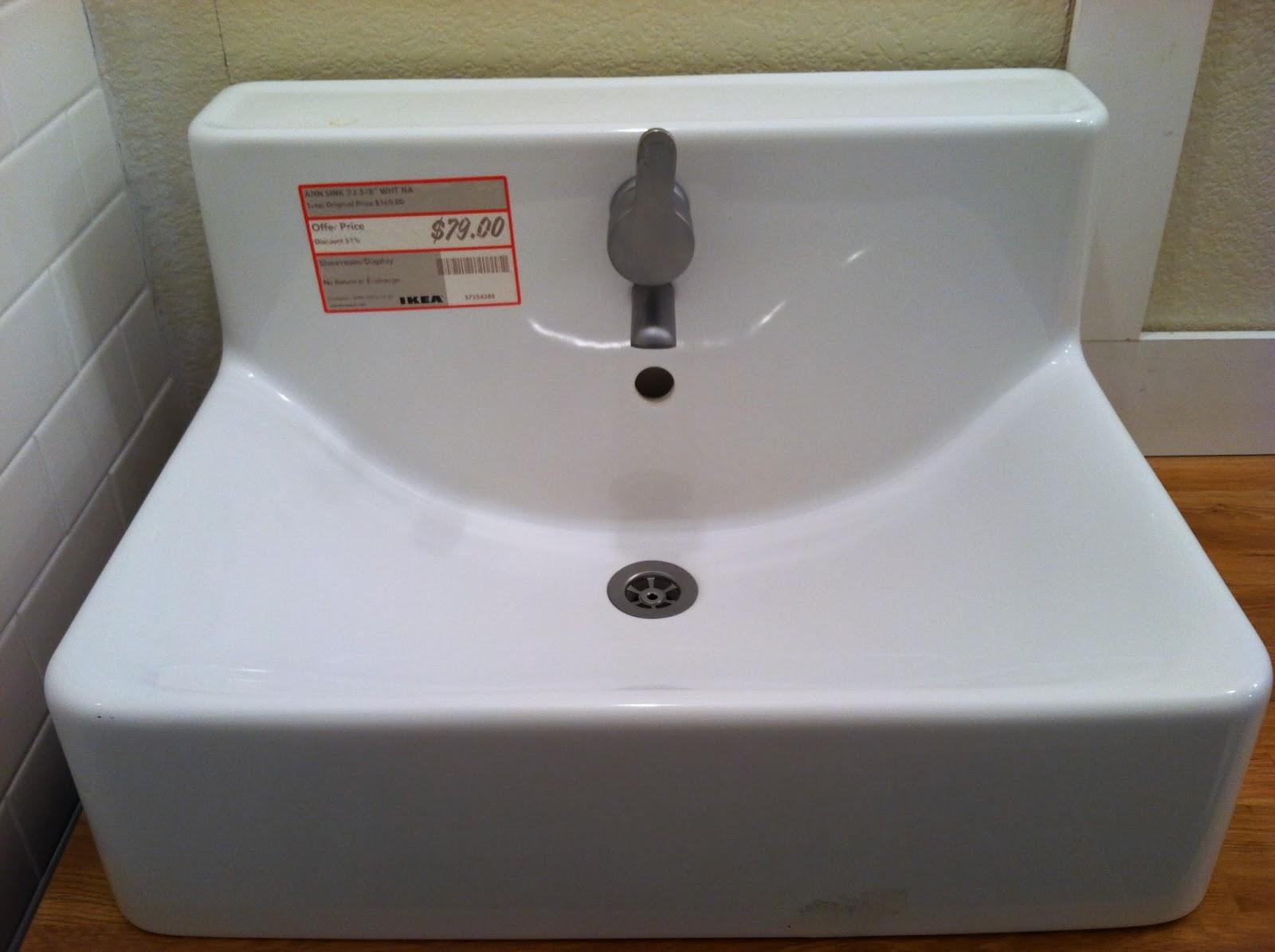 Me and jilly bathroom update vanity installed - Small bathroom sink and vanity combo ...