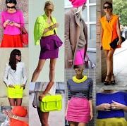 Neon essa moda pega! agora é tudo colorido ! vestidos,saias,biquinis,sapatos,calças, acessórios, bolsas!  e neon plus size