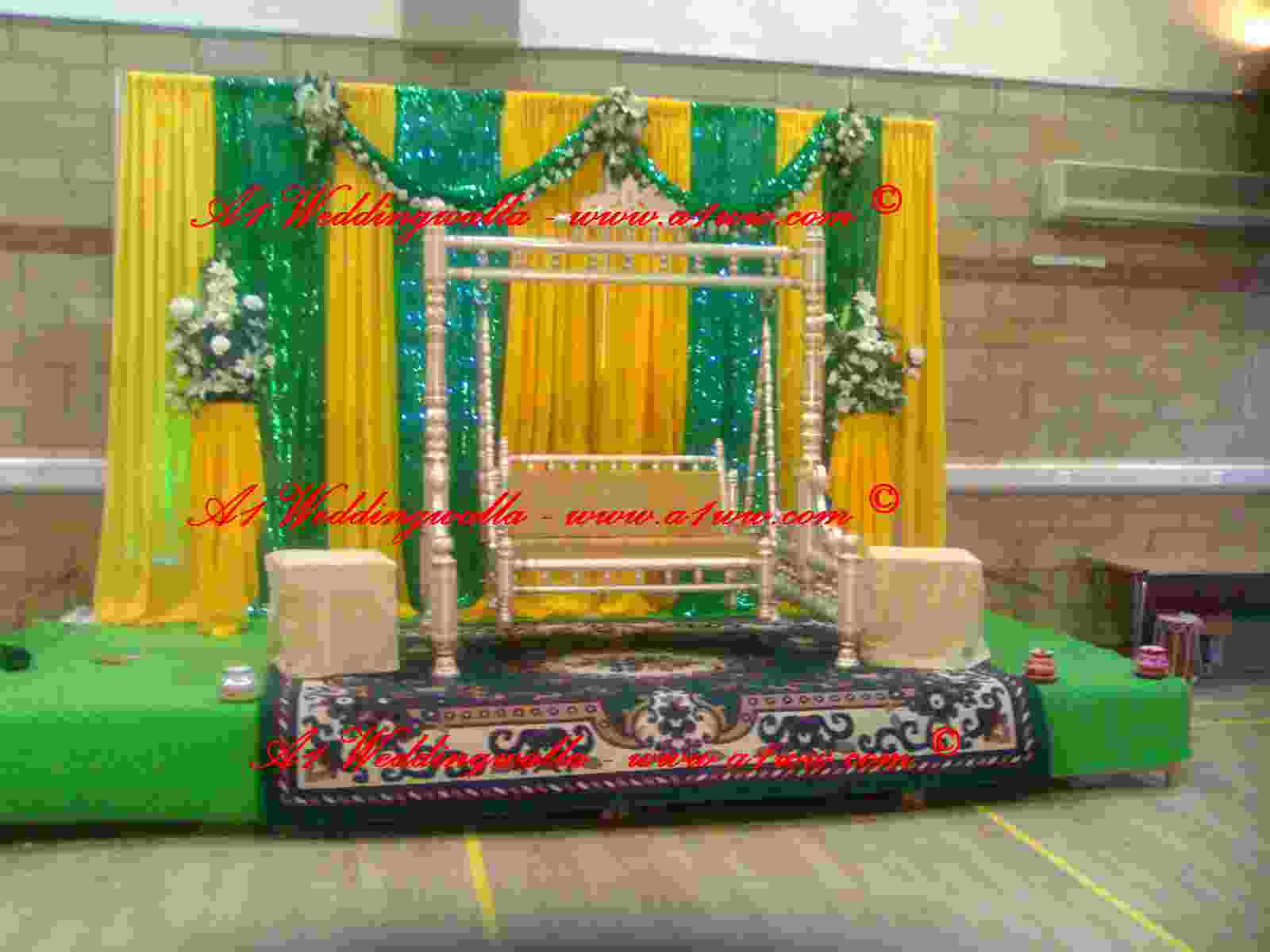 Wedding planer for Arabic stage decoration