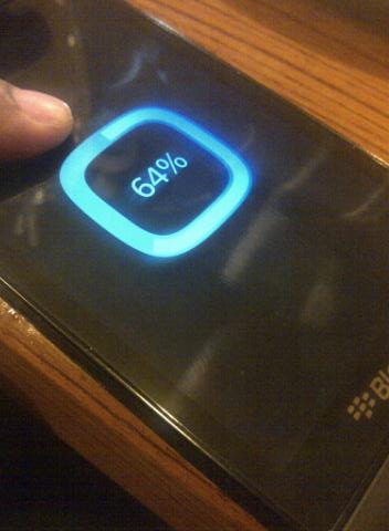 Blackberry 10 boot screen