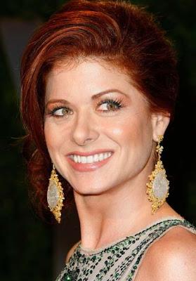 Debra Messing Dangling Gemstone Earrings