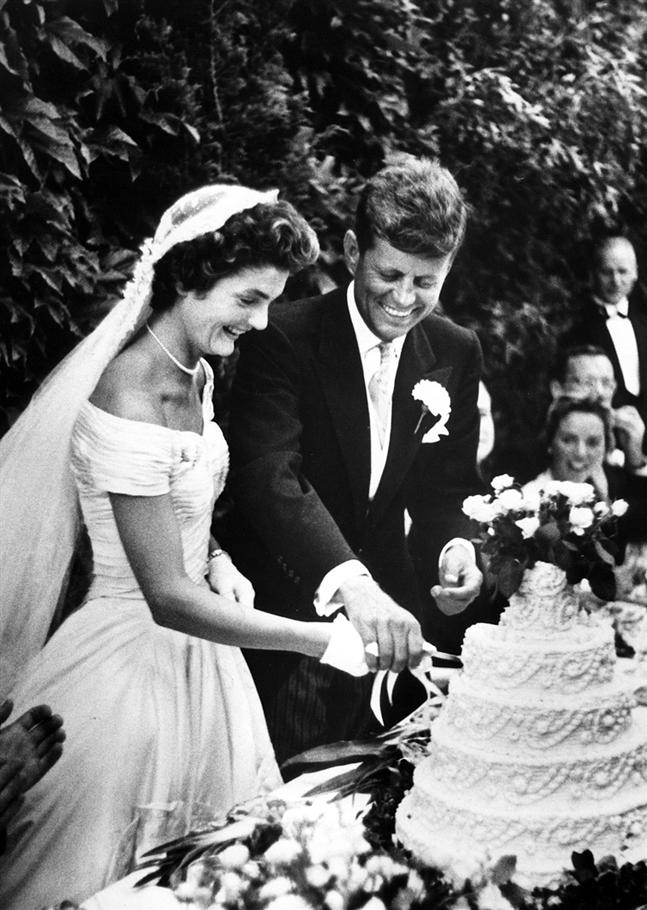 jackie kennedy wedding. jackie kennedy wedding