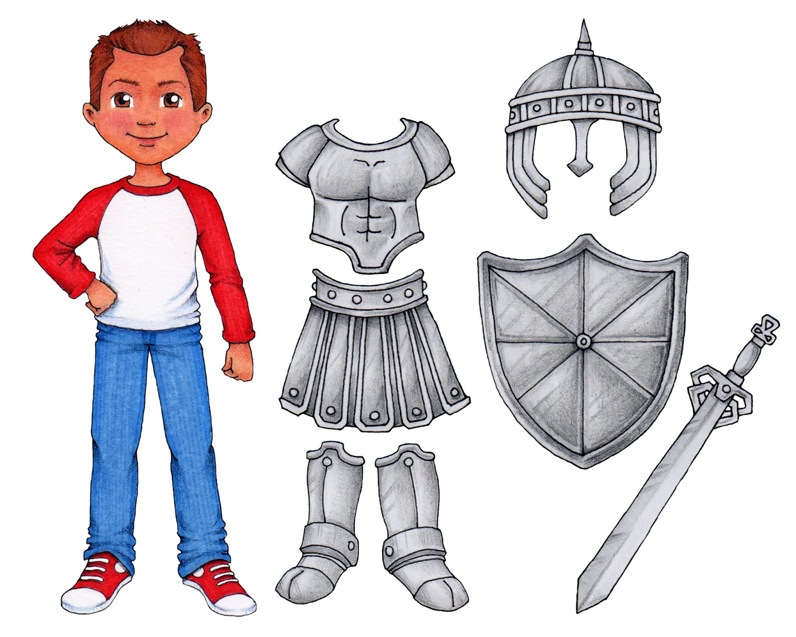 susan fitch design putting on the armor of god