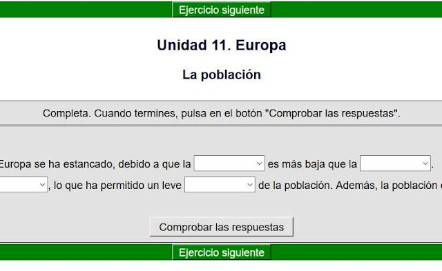 Población de Europa