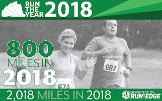 Run the Year 2018 - My latest badge