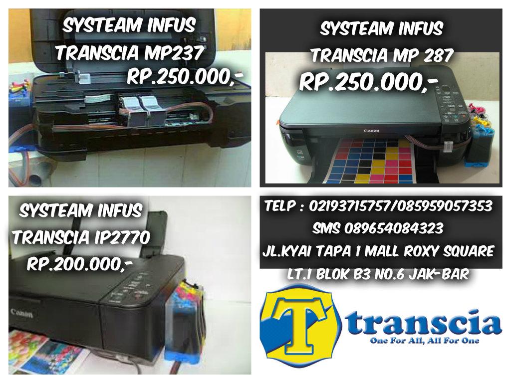 Refill Tinta Toner Printer Inkjet Laserjet Canonhpepsonbrather Canon Ip2770 System Infus Modifikasi Dan Epson Transcia Ink