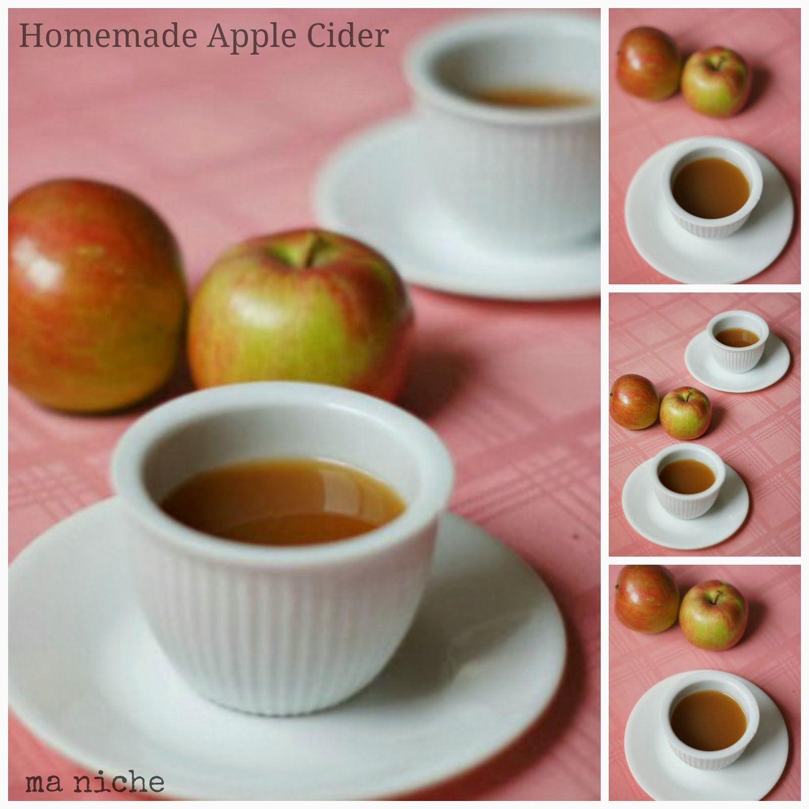 how to make fruit cider at home
