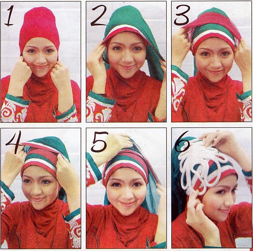 Hijab Tutorial Paris 2013 Simple Trend Model Terbaru | New