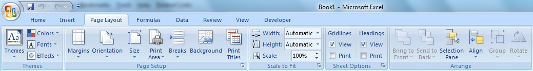 Pengertian dan Mengenal Fungsi Microsoft Excel 2007