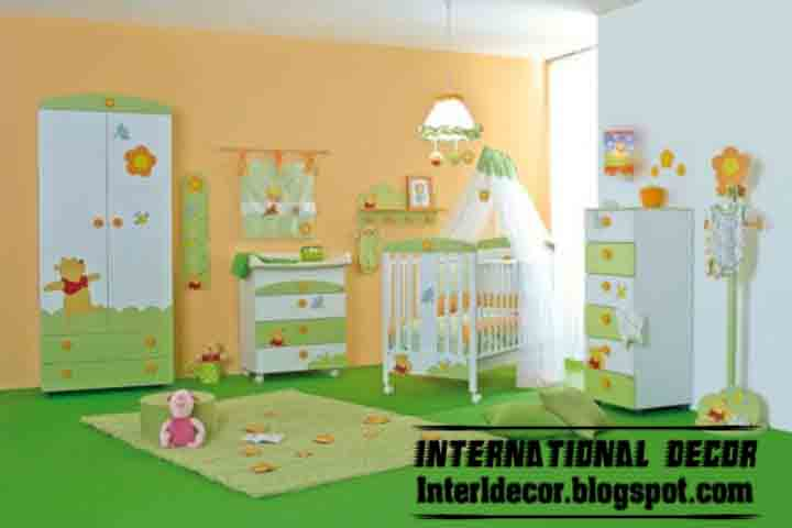 International decor: Modern Paints Ideas for Kids room 2013 ...