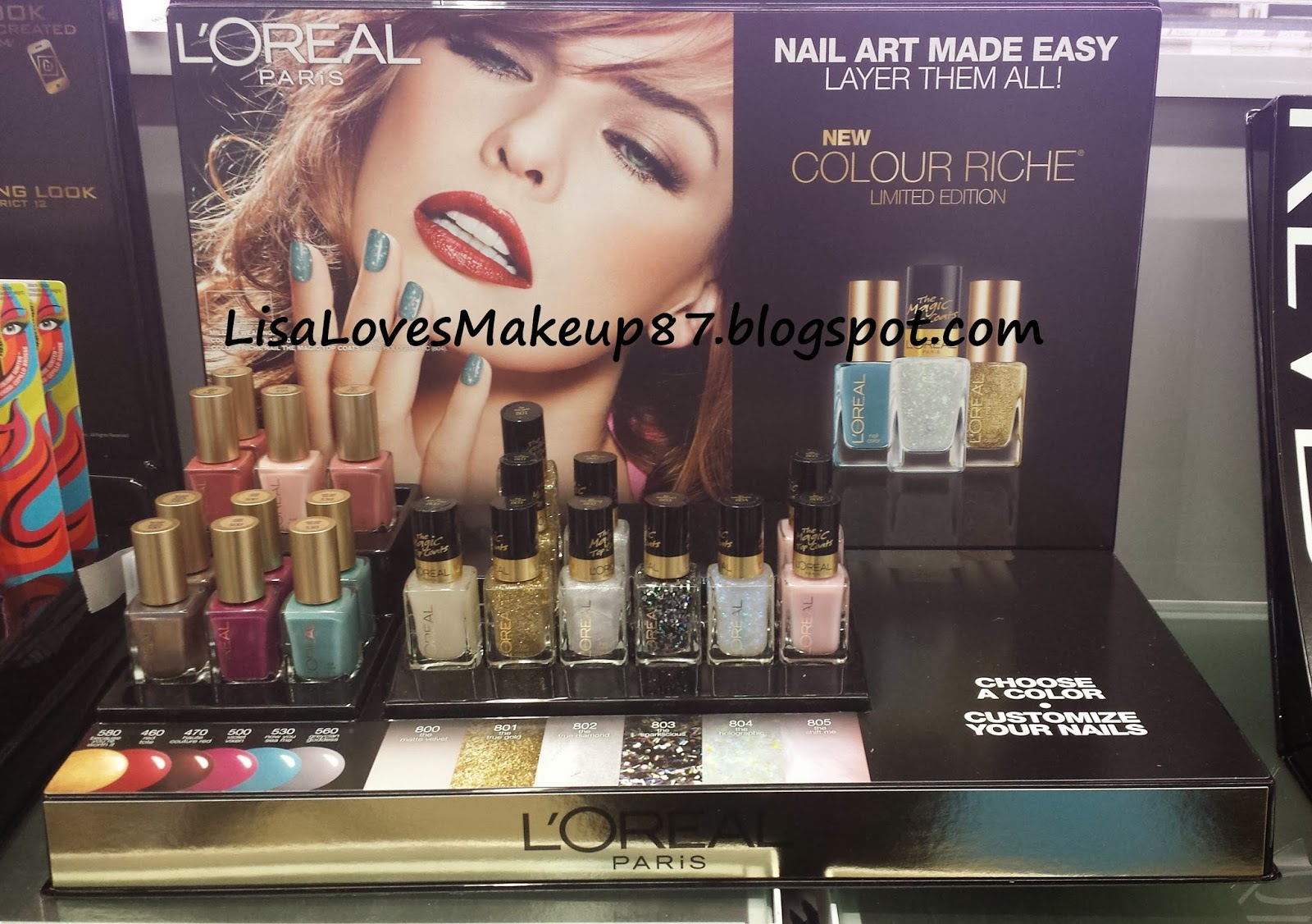 LisaLovesMakeup87: Spotted: LOreal Limited Edition The