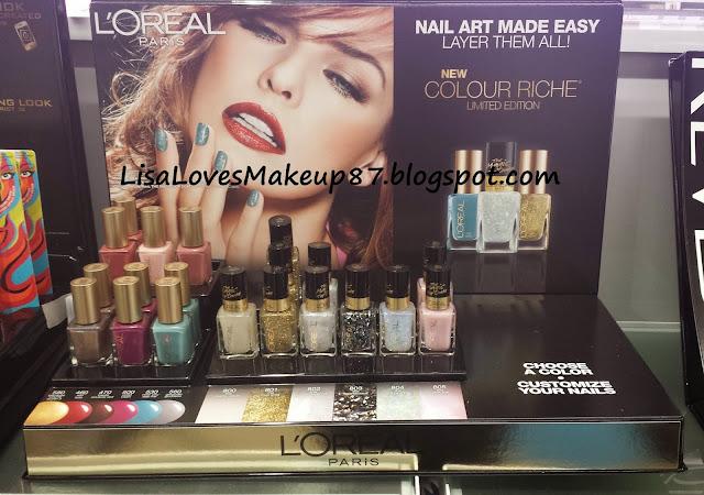 LisaLovesMakeup87: SPOTTED: LOreal London Fall LE Nail