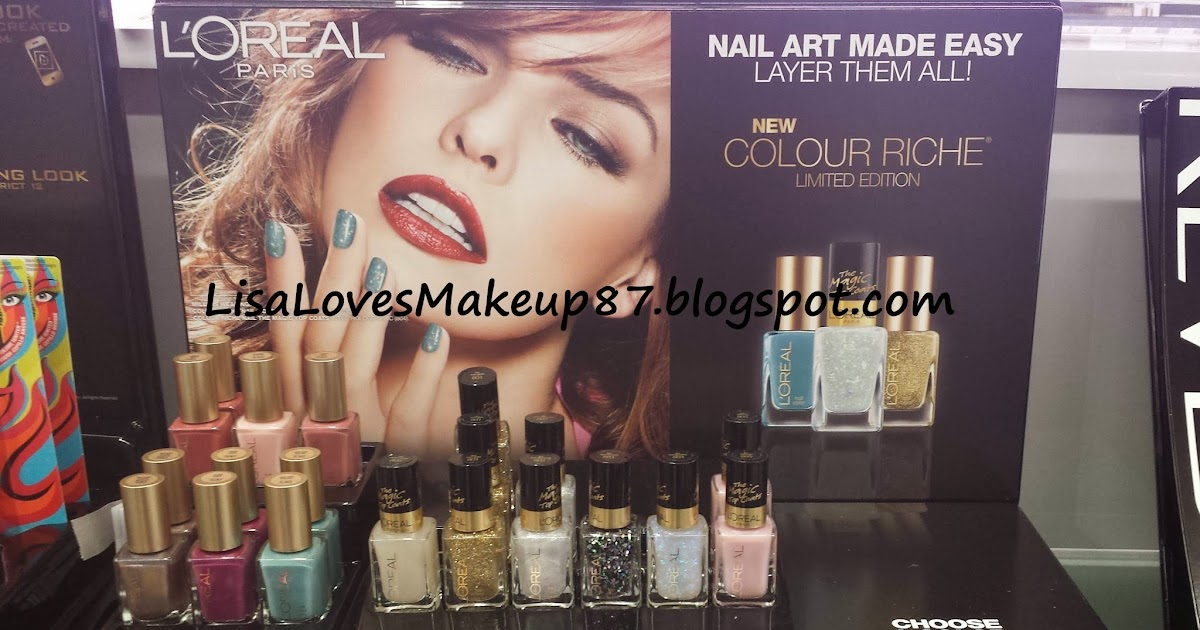 LisaLovesMakeup87: Spotted: New LOreal Products