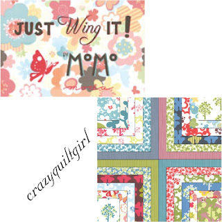 Moda JUST WING IT Quilt Fabric by Momo