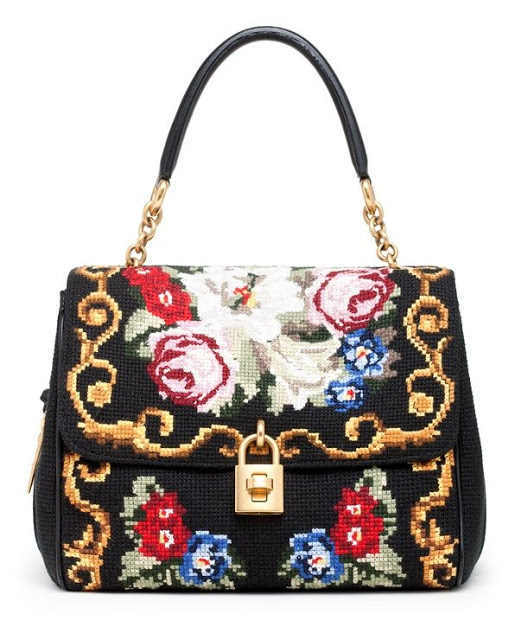 Miss Sicily Needlepoint Dolce & Gabbana Bag