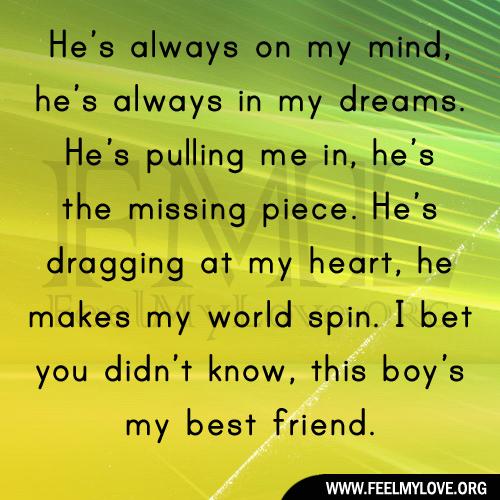 my he: