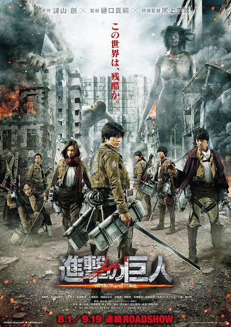 Tải Phim Đại Chiến Titan  - Attack on Titan Live Action 2015