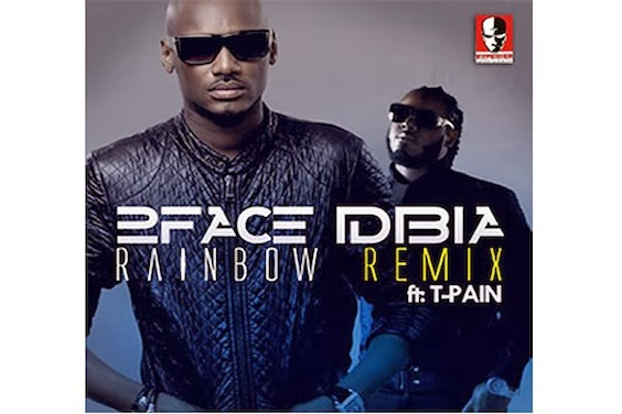 VIDEO: 2face – Rainbow (Remix) f. T-Pain
