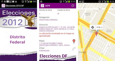 Celular Android Ubica tu Casilla GeneXus