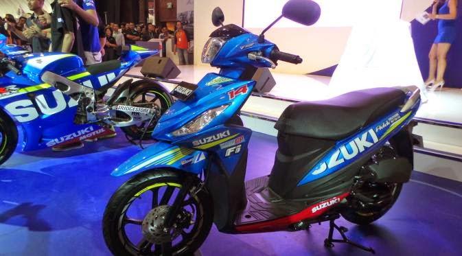 New Suzuki Address, Skutik Anyar Hanya 13 Jutaan
