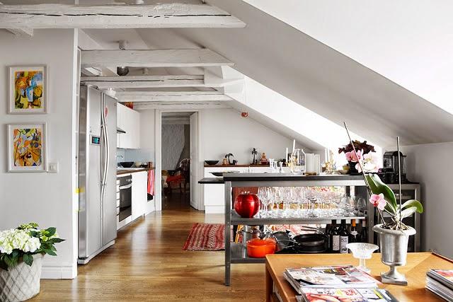 Estilo rustico estilo rustico de una vivienda en una - Buhardillas con encanto ...