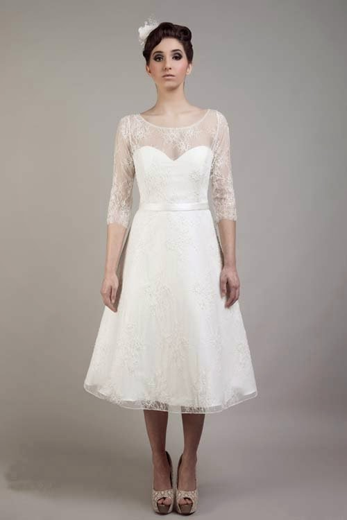 2015 Cheap Short Wedding Dresses By Tobi Hannah