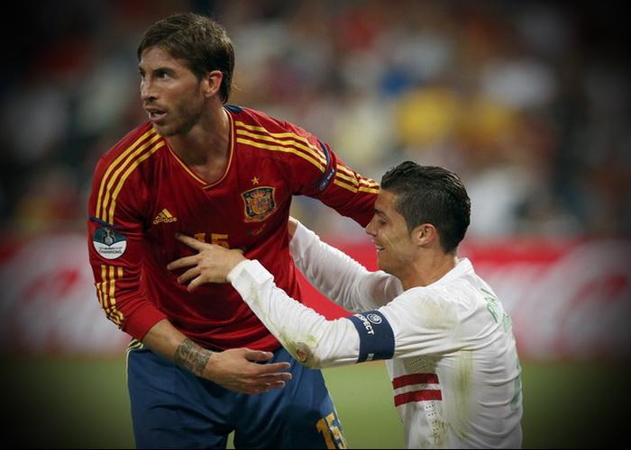 Sergio Ramos Cristiano Ronaldo Fight Sergio ramos Sergio Ramos ...