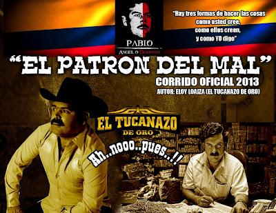 El Tucanazo De Oro Ft Grupo Imperial - El Patron Del Mal (Corridos 2013)
