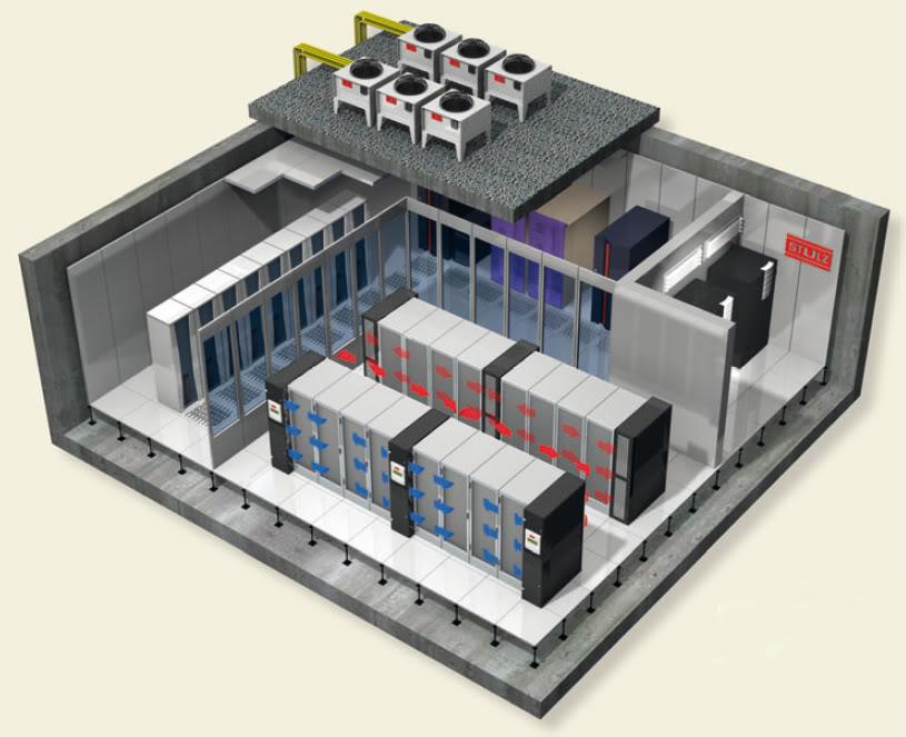 Máy lạnh chính xác  giải pháp cho data center