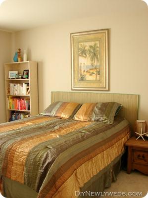 diy newlyweds diy home decorating ideas u0026 projects diy sea grass headboard - Seagrass Headboard
