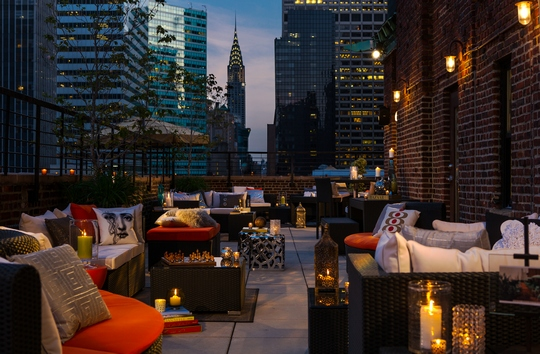 Restaurants nightlife get the best ratings and reviews Nyc rooftop bars