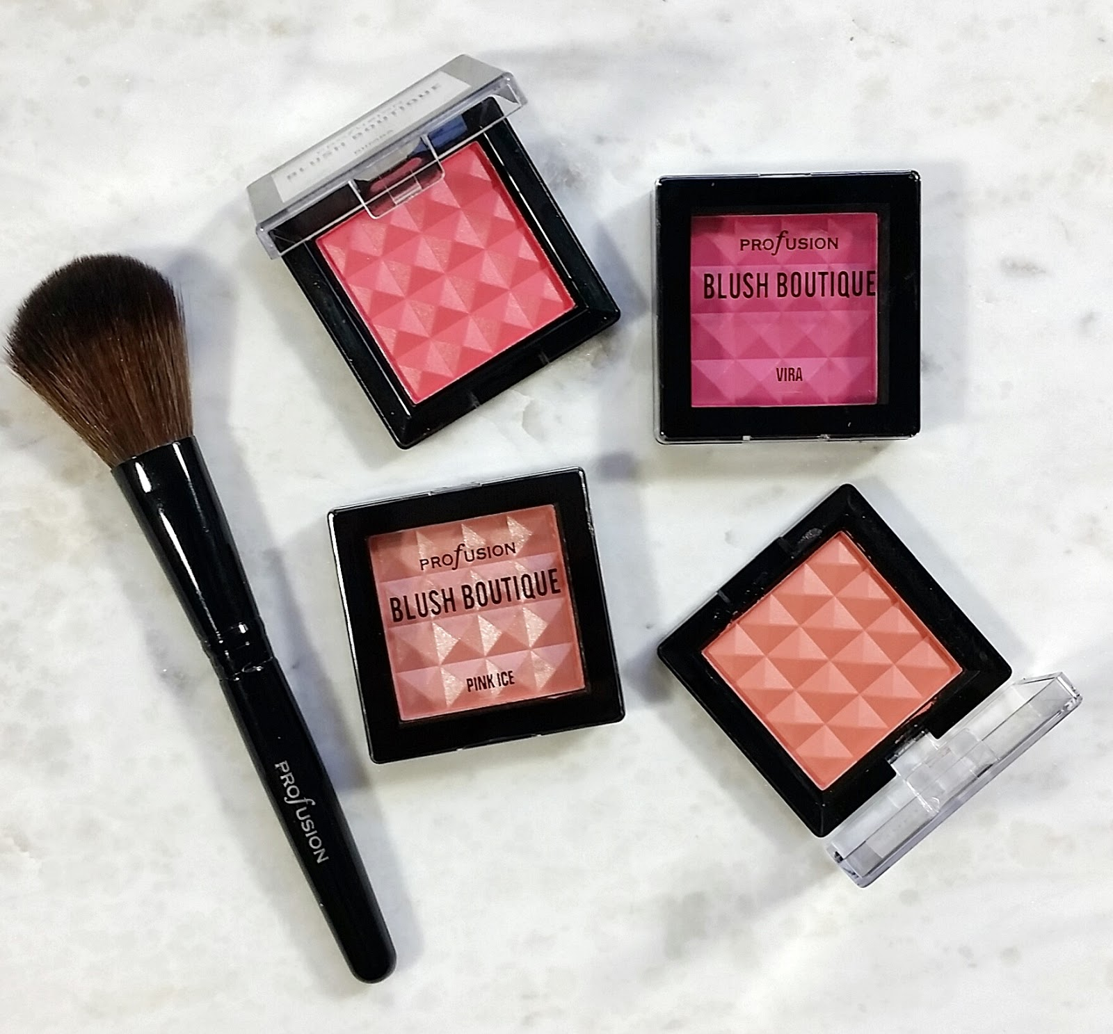 Profusion Make Me Blush Set- Blush Boutique Review & Swatches ...