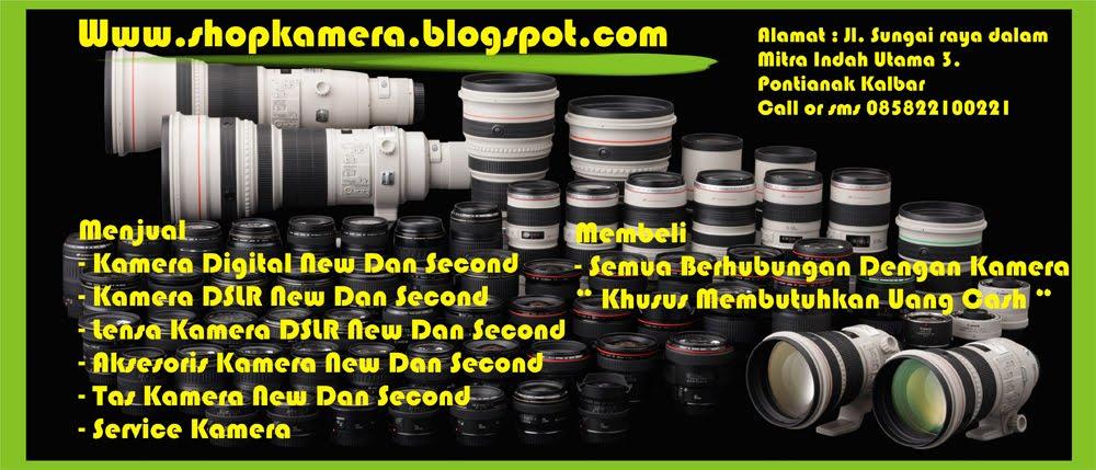 Menjual Kamera Dan Lensa