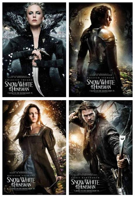 """Snow White and The Huntsman"" tem disponíveis online quatro novo posters internacionais. ""Snow White and The Huntsman"" has 4 new international posters."