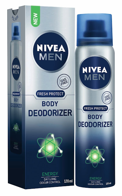 PR:Nivea Men Body Deodoriser