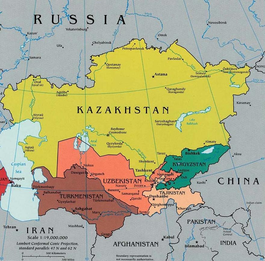 Central Asia: Uzbekistan and Tajikistan 99