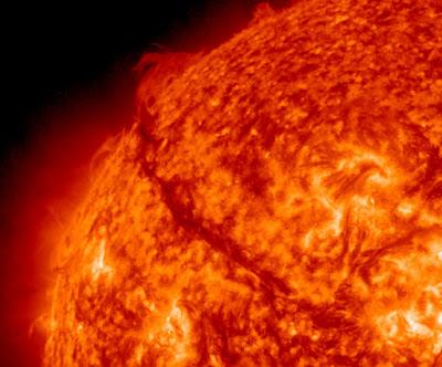 actividad solar 12 de Noviembre de 2011